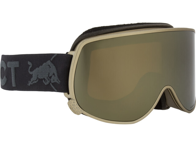Red Bull SPECT Magnetron Eon Lunettes de protection, gold/frozen gold